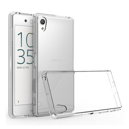 Etui na Xperia E5 silikonowe, przezroczyste crystal case.