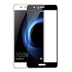 Hartowane szkło na cały ekran 3d Huawei P10 Lite - Czarny.