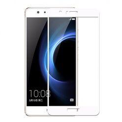 Hartowane szkło na cały ekran 3d Huawei P10 Lite - Biały.