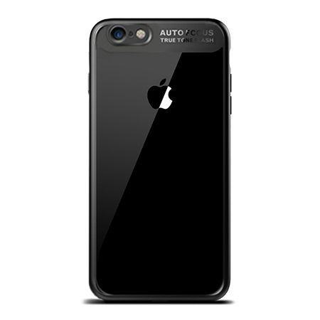 Etui na iPhone 7 -  ROCK Clarity - Czarny