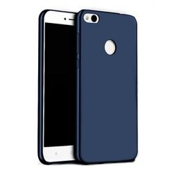 Etui na telefon Huawei P9 Lite mini - Slim MattE - Granatowy.