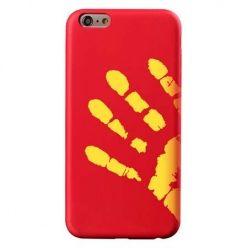 Termiczne etui na iPhone 6 Plus / 6s Plus elastyczne - czerwony.
