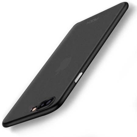 Etui na iPhone 7 Plus - ROCK Naked - Czarny.