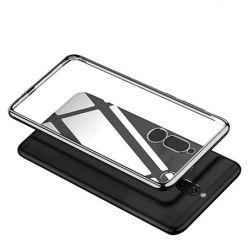 Etui na Huawei Mate 10 Lite platynowane  SLIM tpu - Srebrny.