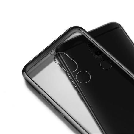 Etui na Huawei Mate 10 Lite platynowane  SLIM tpu - Grafitowy.
