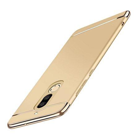 Etui na telefon Huawei Mate 10 Lite - Slim MattE Platynowane - Złoty.