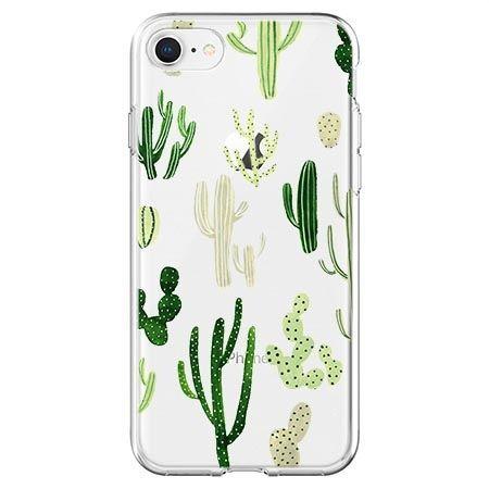 Etui na telefon - kaktusowy ogród.