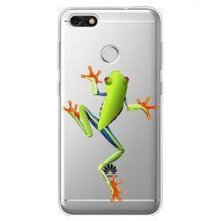 Etui na Huawei P9 Lite mini - zielona żabka.