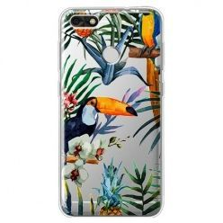 Etui na Huawei P9 Lite mini - egzotyczne tukany.