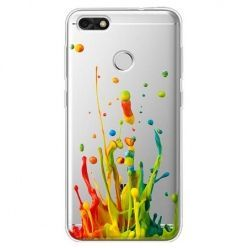Etui na Huawei P9 Lite mini - kolorowy splash.