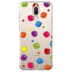 Etui na Huawei Mate 10 lite - kolorowe lizaki .