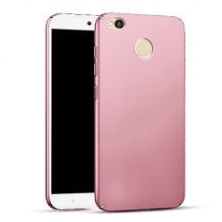 Etui na telefon Xiaomi Redmi 4X - Slim MattE - Różowy.