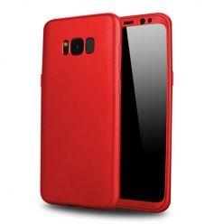 Etui na telefon Samsung Galaxy S8 - Slim MattE 360 - Czerwony.