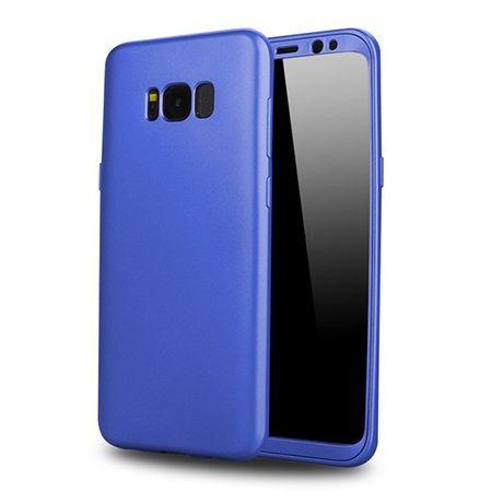 Etui na telefon Samsung Galaxy S8 - Slim MattE 360 - Niebieski.