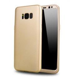 Etui na telefon Samsung Galaxy S8 - Slim MattE 360 - Złoty.