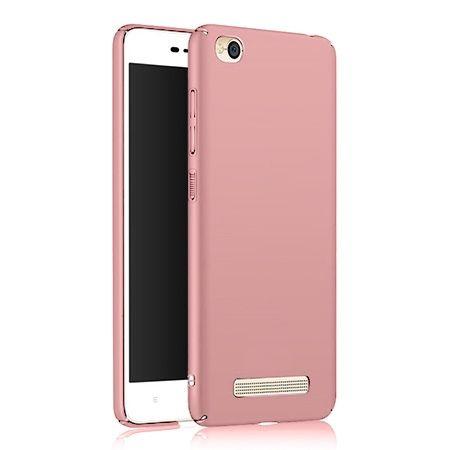 Etui na telefon Xiaomi Redmi 4A - Slim MattE - Różowy.