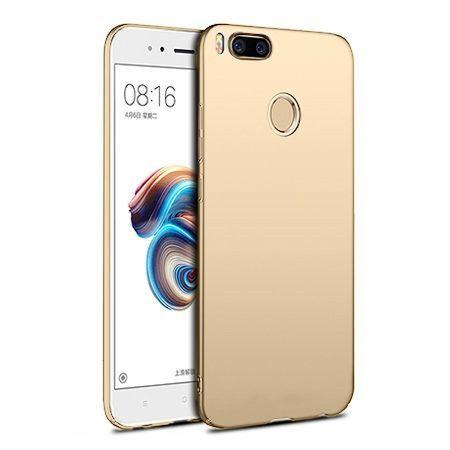 Etui na telefon Xiaomi Mi 5x - Slim MattE - Złoty.