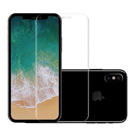 Hartowane szkło na cały ekran 5d iPhone X - Bezbarwny.