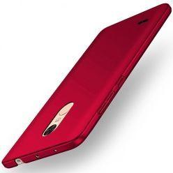 Etui na telefon LG K8 2017 - Slim MattE - Czerwony.