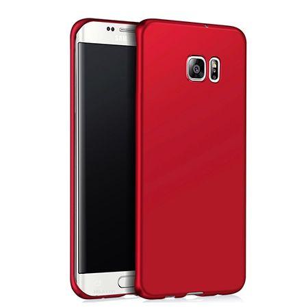 Etui na telefon Samsung Galaxy S7 Edge - Slim MattE - Czerwony.