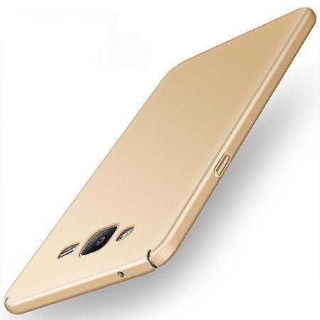 Etui na telefon Samsung Galaxy Grand Prime - Slim MattE - Złoty.