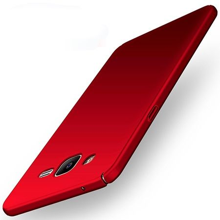 Etui na telefon Samsung Galaxy Grand Prime - Slim MattE - Czerwony.