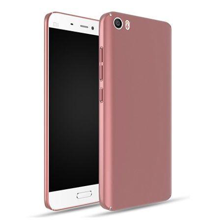Etui na telefon Xiaomi Mi 5  - Slim MattE - Różowy.