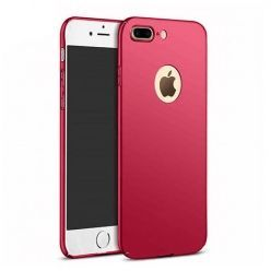 Etui na telefon iPhone 8 Plus  - Slim MattE - Czerwony.