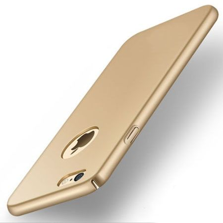 Etui na telefon iPhone 8 - SLim MattE - Złoty.