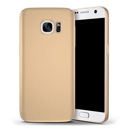Etui na telefon Samsung Galaxy S7 - Slim MattE - Złoty.