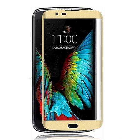Hartowane szkło na cały ekran 3d LG K8  - Złoty.