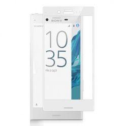Xperia XZ - hartowane szkło 3D na cały ekran - Biały.
