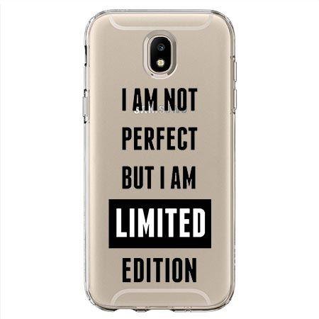 Etui na Samsung Galaxy J7 2017 - I Am not perfect…