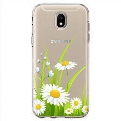 Etui na Samsung Galaxy J7 2017 - polne stokrotki.