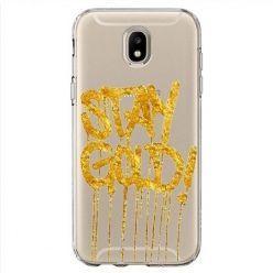 Etui na Samsung Galaxy J7 2017 - Stay Gold.