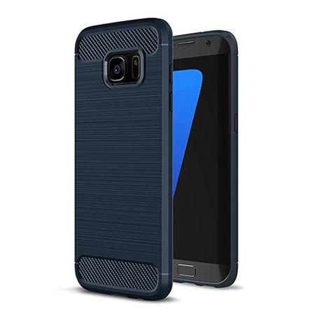 Etui na Galaxy S7 Edge - bumper Neo CARBON - Granatowy.