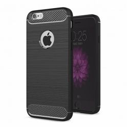 Etui na iPhone 8 - bumper Neo CARBON - Czarny.