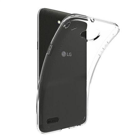 Etui na LG X Power 2 - silikonowe, przezroczyste crystal case.