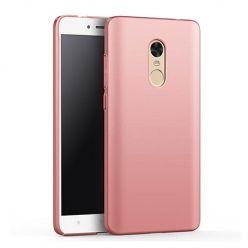 Etui na telefon Xiaomi Redmi Note 4X - Slim MattE - Różowy.