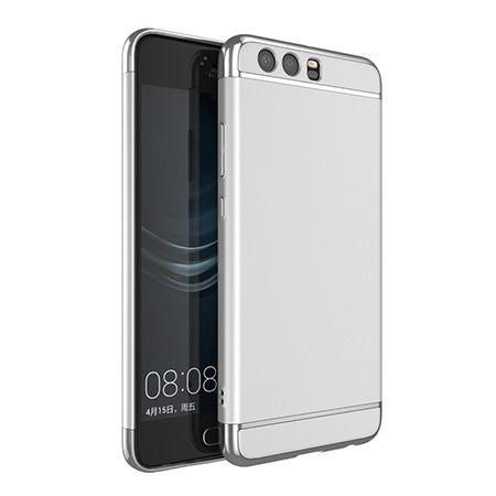 Etui na telefon Huawei P10 - Slim MattE Platynowane - Srebrny.