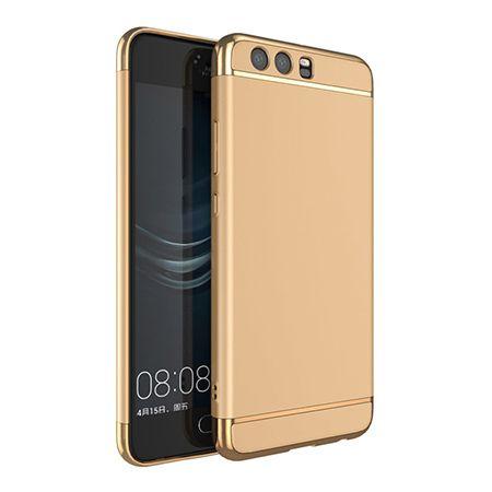 Etui na telefon Huawei P10 - Slim MattE Platynowane - Złoty.