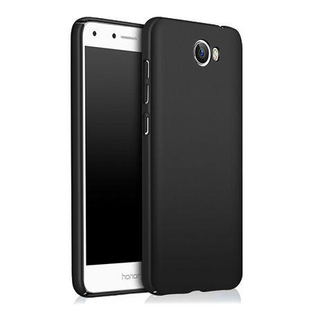 Etui na telefon Huawei Y6 II Compact - Slim MattE - Czarny.