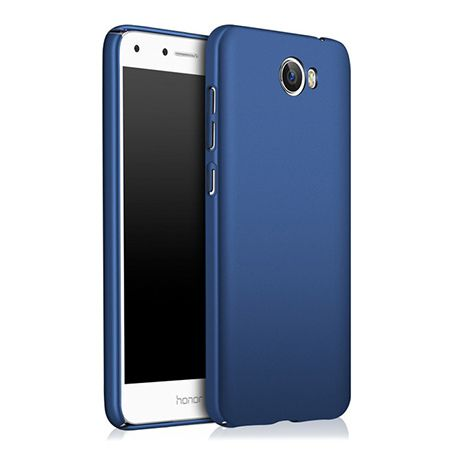 Etui na telefon Huawei Y6 II Compact - Slim MattE - Granatowy.