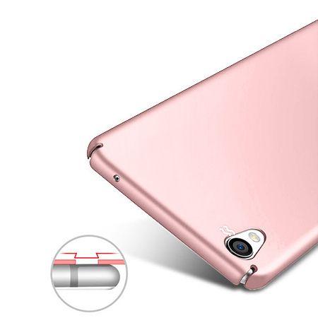 Etui na telefon Sony Xperia L1 - Slim MattE - Różowy.