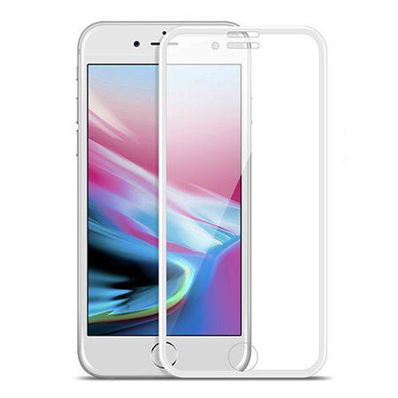 HOCO hartowane szkło na cały ekran 3d  iPhone 7 - Biały.