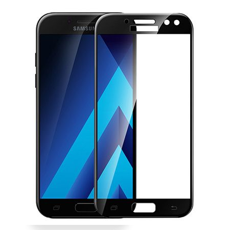 Galaxy J5 2017 - hartowane szkło 3D na cały ekran - Czarny.
