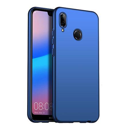 Etui na telefon Huawei P20 Lite - Slim MattE - Granatowy.