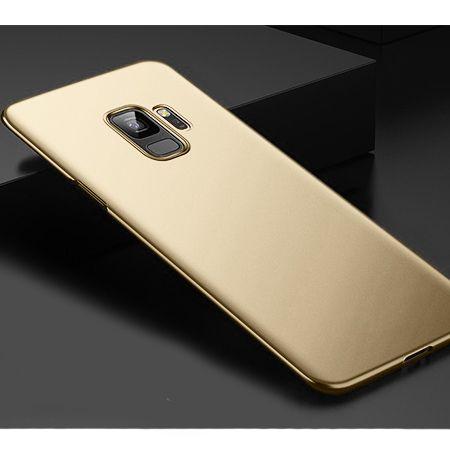 Etui na telefon Samsung Galaxy S9 - Slim MattE - Złoty.
