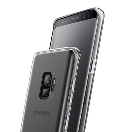 Etui na Galaxy S9 - silikonowe, przezroczyste crystal case.
