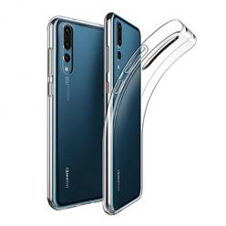 Etui na Huawei P20 Pro - silikonowe, przezroczyste crystal case.